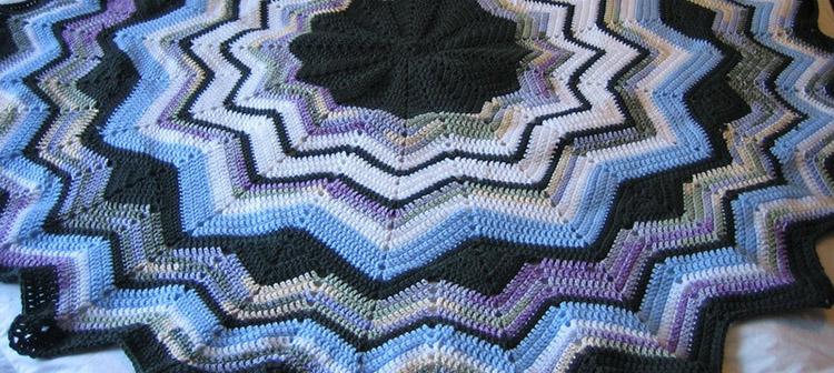 Afghan Baby Crochet Free Pattern Round Crochet Patterns