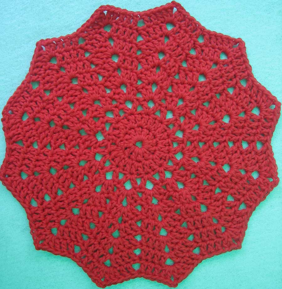 Crochet Patterns In The Round : free crochet round ripple baby afghan pattern